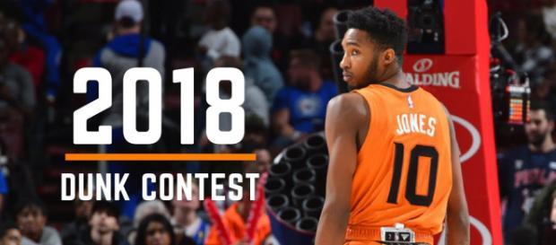 Noche de ensueño en la NBA con el concurso de volcadas 2018