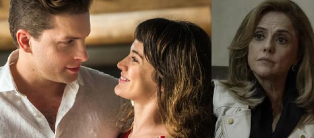 Patrick e Clara namoram e começam vingança de Sophia
