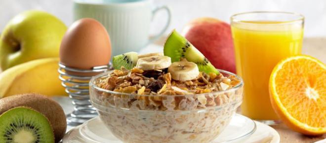 Cinco opciones saludables de desayuno