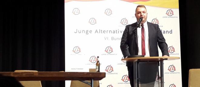 Büdingen: Damian Lohr ist neuer Bundesvorsitzender der Jungen Alternative