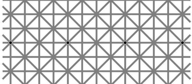 12 Punkte: Eine optische Täuschung macht das Netz verrückt!
