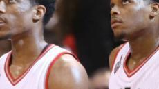 El entrenador de los Raptors, Dwane Casey, consigue su momento