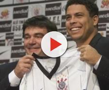Andrés Sanchez e Ronaldo Fenômeno
