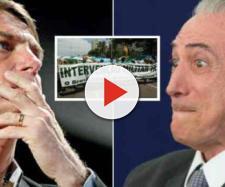 Bolsonaro ataca intervenção militar de Temer e revela toda a verdade
