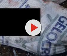 Corpos são encontrados dentro de sacos