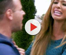 Farrah Abraham fights with Larry. [Photo via MTV/YouTube]
