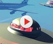 Ufo avvistati da un aeroplano?