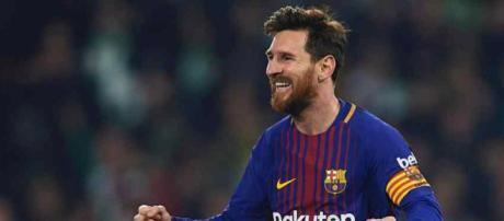 Leo Messi é admirado também pelos outros jogadores