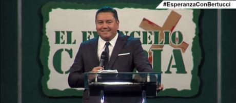 Pastor Javier Bertucci, candidato à presidência da Venezuela. Foto: Reprodução/Youtube