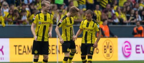 BVB: Marco Reus, Mario Götze und André Schürrle im zweiten Anlauf ... - eurosport.de