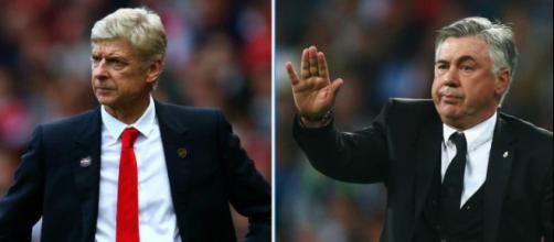 Ancelotti podría ser el reemplazante de Wenger en el Arsenal