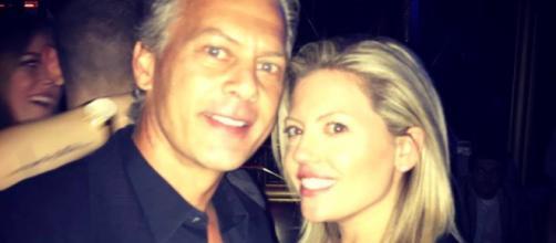 David Beador and Lesley Cook pose in Las Vegas. [Photo via Instagram]