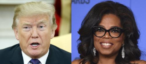 Donald Trump, Oprah Winfrey, via Twitter