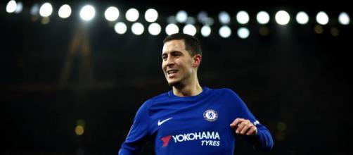Eden Hazard tiene la oportunidad de brillar en el juego contra el Barcelona