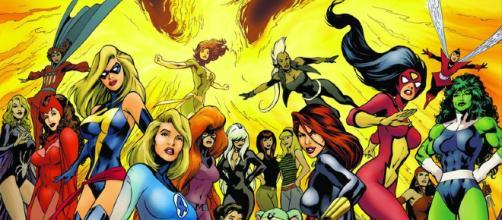 Abran paso, es el tiempo de las Superheroínas