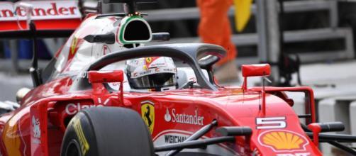 I test di Halo 2017 con la Ferrari