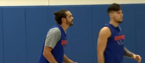 Joakim Noah is done in New York [Image via SNY / YouTube Screencap]