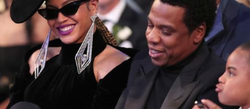 Beyoncé y Jay-Z callados por Blue Ivy en los Grammys 2018