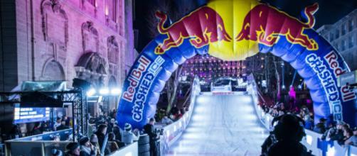 L'arrivée du Red Bull Crashed Ice Marseille 2018 (Crédit photo : Romain Pommier)