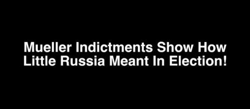 Mueller indictment prove Trump was right. - [Image credit Dick Morris TV / YouTube screencap]