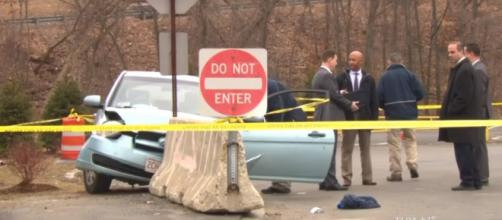 Road rage in Lowell, MA left one man dead and a woman behind bars [Image via CBS Boston]