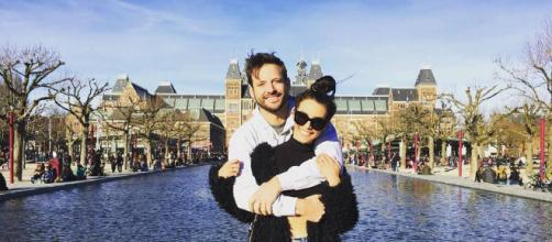 Scheana Marie and Rob in Amsterdam. [Photo via Instagram]