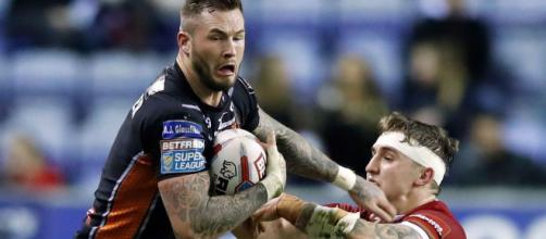 Zak Hardaker could be on the cusp of signing a major contract at Wigan, despite a two-year ban looking likely. Image Source - mirror.co.uk