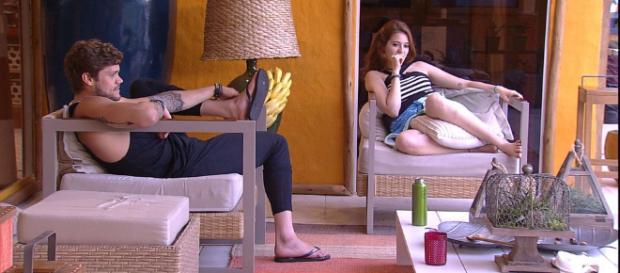 Ana Clara fala sobre Jéssica e Lucas. (Foto Reprodução).