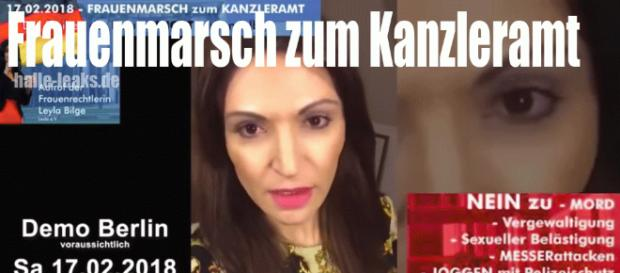 Berlin, 17.02.2018 – Frauenmarsch zum Kanzleramt – halle-leaks.de Blog - halle-leaks.de
