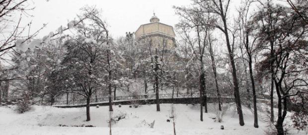 Brusco frío y nieve afecta a los italianos
