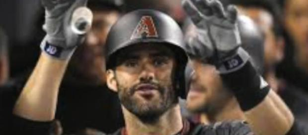 It is back to business for JD Martinez who has a new home is Boston.[image source: BehindThePlay/YouTube screenshot]