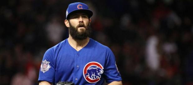 Jake Arrieta is one of many big names still looking for a home. (Image via sportingnews/Youtube)