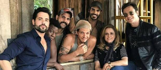 O elenco da Globo está muito unido
