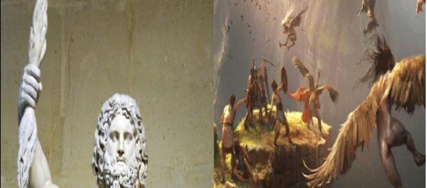 Zeus Dias com as suas harpias sentinelas