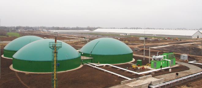 ¿Cómo funciona una planta de biogás?