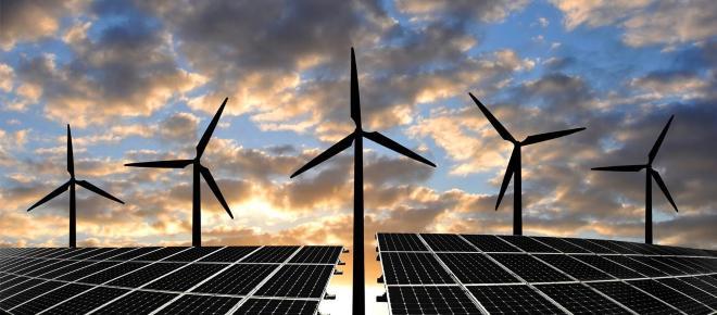 Transferencias de energía eléctrica Alemanas a fuentes renovables