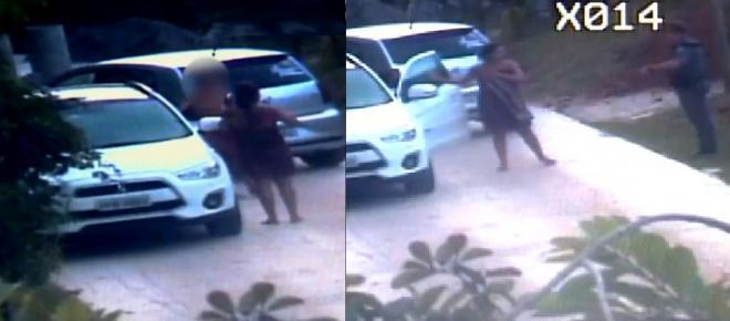 Mulher é presa após ser flagrada sem roupa, abusando de menino desesperado