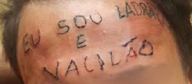 Conheça a verdadeira história do jovem tatuado na testa 'sou ladrão e vacilão'
