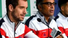 Les protégés de Yannick Noah débutent leur campagne de Coupe Davis timidement
