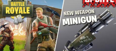 Fortnite Minigun UPDATE: New Battle Royale download release teased ... - dailystar.co.uk