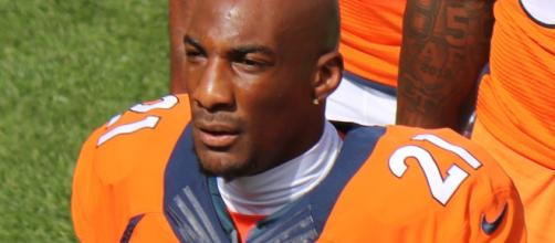 Aqib Talib is expected to find a new home in the offseason. / Photo via Jeffrey Beall, Wikimedia Commons