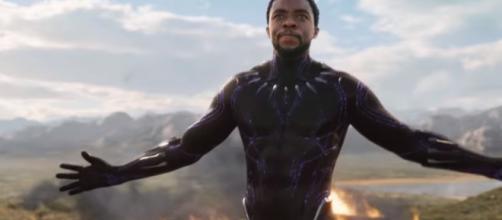 Chadwick Boseman as T'Challa/Black Panther [Image via Marvel Entertainment/YouTube screencap]