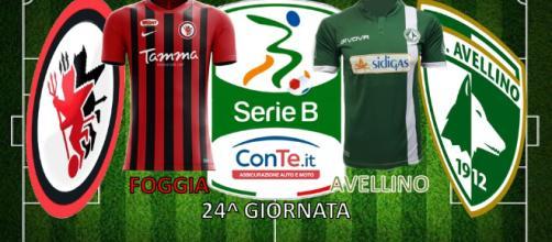 """Foggia e Avellino si sfideranno allo """"Zaccheria"""" nella 24^ giornata di Serie B ConTe.it"""