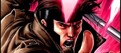 Gambit as illustrated in the comic books. [Image via ComicBookCast2/YouTube screencap]