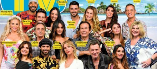 I naufraghi 2018 ed Alessia Marcuzzi