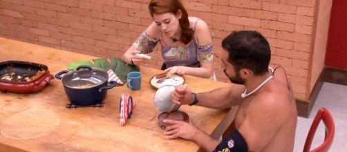 Kaysar lacrou ao responder a Ana Clara (Foto internet)