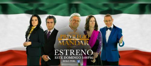 La segunda temporada de la serie El Privilegio de Mandar es ahora transmitida por Televisa