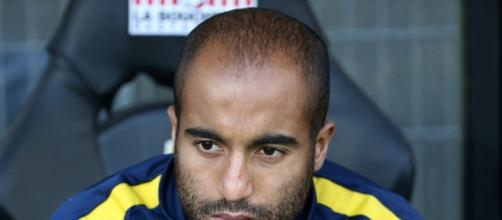 Lucas Moura deixou o Paris Saint-Germain