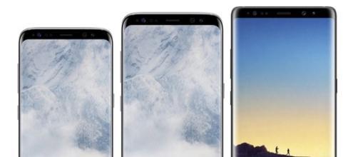 Top di gamma 2017 Samsung. Serie S8 e Note 8
