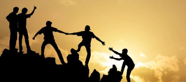 A lealdade e o respeito mútuo é a chave para a verdadeira amizade.